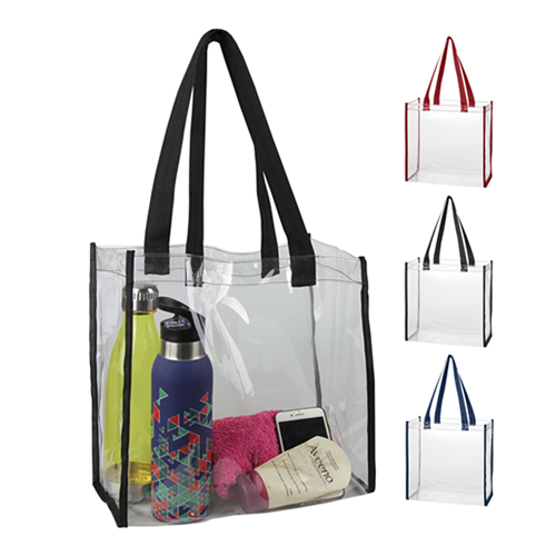 Clear Tote Bag – CTB001