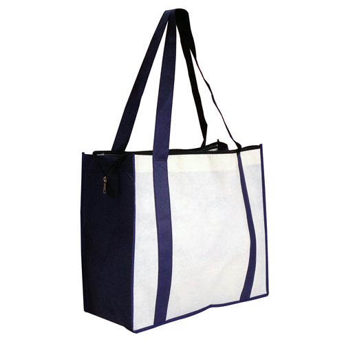 Non Woven Large Zipped Shopping Bag – NWB017