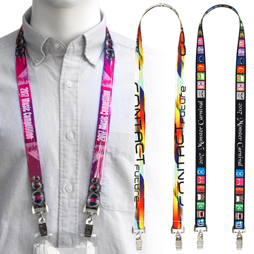 20mm Full Colour Lanyards – PK02026