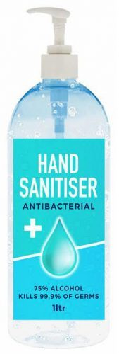 1 Litre Hand Sanitiser Bottle – N1L