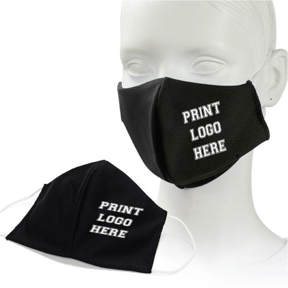 3D PrintedFace Masks – Solid Colour