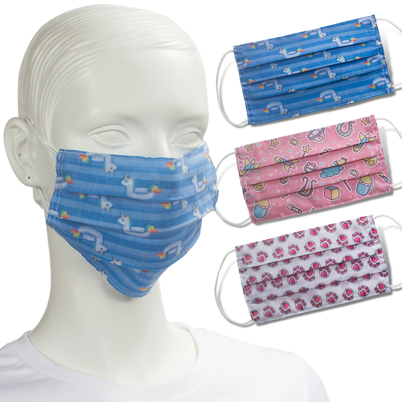 3 Fold Face Masks