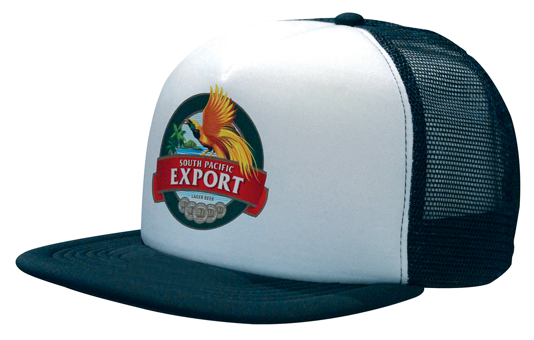 Trucker Mesh Cap With Flat Peak – 3806