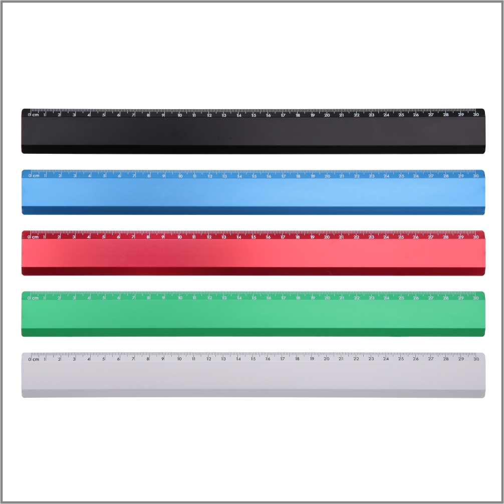 Metal Ruler / 30cm – JR002