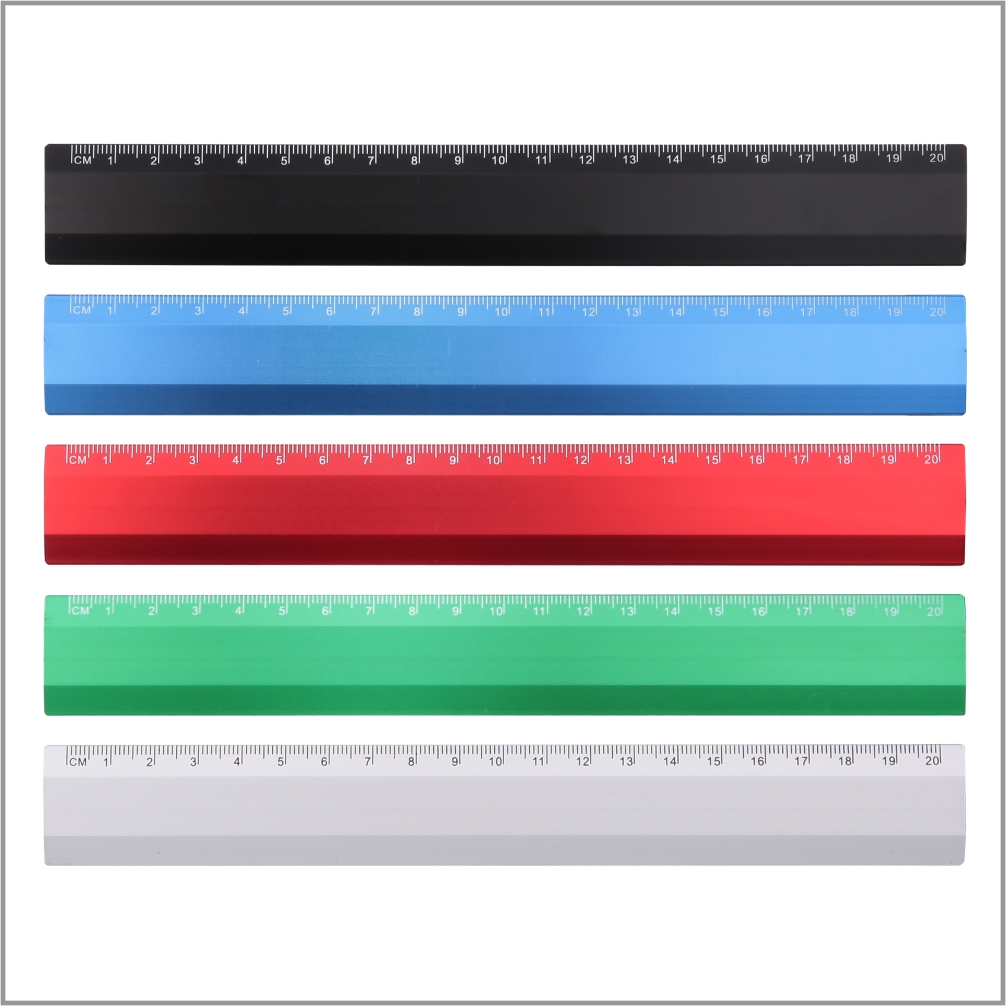 Metal Ruler / 20cm – JR003