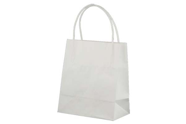 Toddler Standard White Kraft Paper Bag Printed – KBWTFP