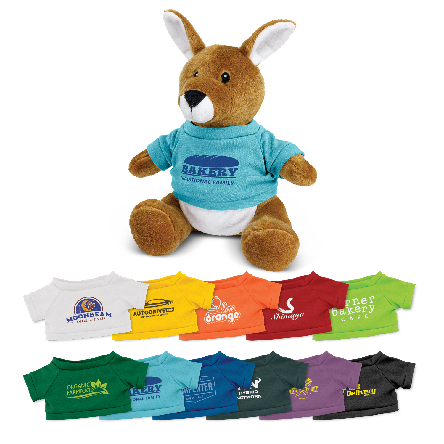 Kangaroo Plush Toy – 117007