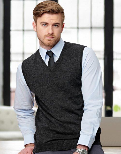 Men's V-Neck Vest – M9501