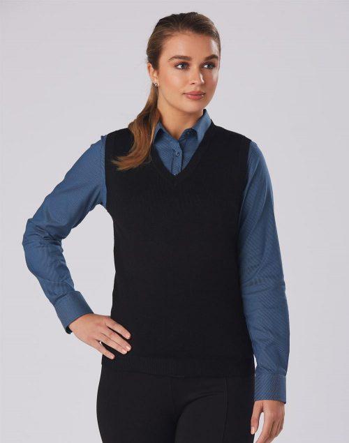 Women's V-Neck Vest – M9601