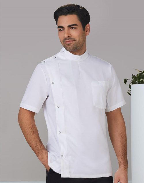 Men's Stud Front Short Sleeve Jacket – M7636